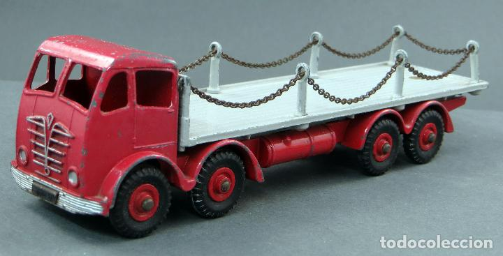 Coches a escala: Camión Foden Flat Truck Dinky Supertoys with Chains con caja 905 1/43 Made in England - Foto 4 - 120418111