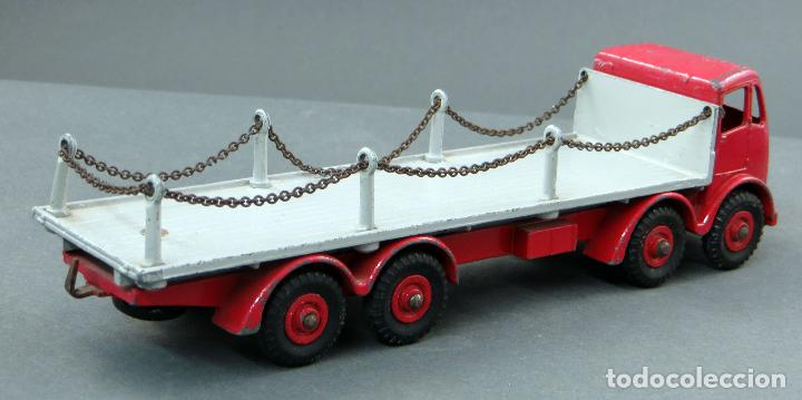 Coches a escala: Camión Foden Flat Truck Dinky Supertoys with Chains con caja 905 1/43 Made in England - Foto 6 - 120418111