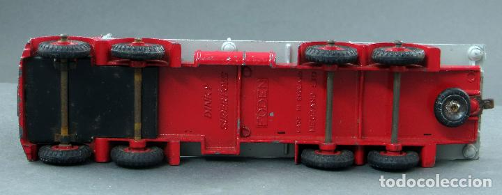 Coches a escala: Camión Foden Flat Truck Dinky Supertoys with Chains con caja 905 1/43 Made in England - Foto 7 - 120418111