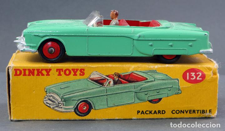 Coches a escala: Packard Convertible Dinky Toys Made in England con caja 132 1/43 años 60 - Foto 1 - 120422999