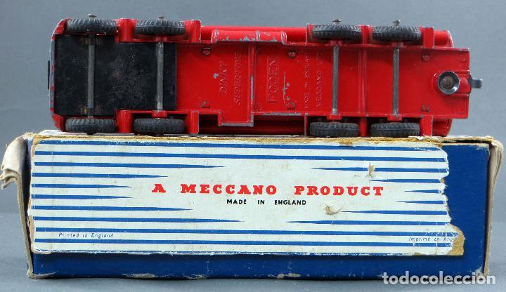 Coches a escala: Cisterna Mobilgas Foden 14 Ton Tanker Dinky SuperToys Made in France con caja 941 1/43 años 60 - Foto 6 - 120534103