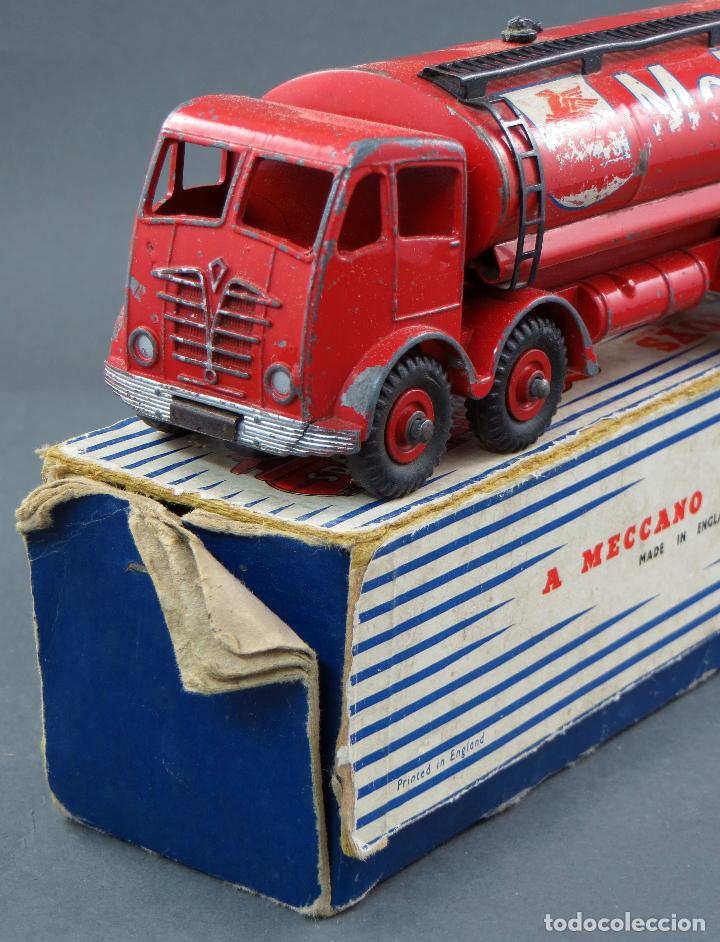 Coches a escala: Cisterna Mobilgas Foden 14 Ton Tanker Dinky SuperToys Made in France con caja 941 1/43 años 60 - Foto 7 - 120534103