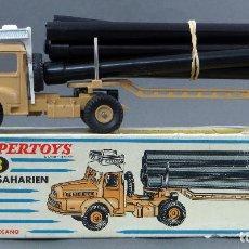 Coches a escala - Camión transporte Tracteur Unic Saharien Dinky SuperToys Made in France con caja 893 1/43 años 60 - 120534855