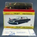 Coches a escala: CITROEN PRESIDENTIELLE DINKY TOYS MADE IN FRANCE CON CAJA 1435 1/43 AÑOS 70. Lote 120545959