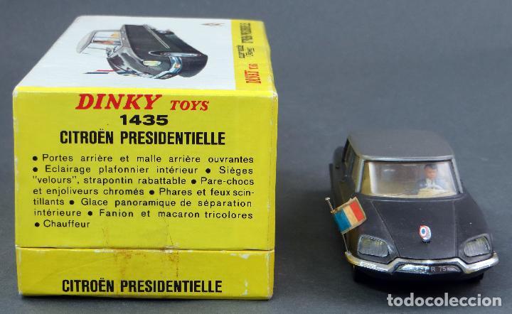 Coches a escala: Citroen Presidentielle Dinky Toys Made in France con caja 1435 1/43 años 70 - Foto 5 - 120545959