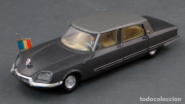 Coches a escala: Citroen Presidentielle Dinky Toys Made in France con caja 1435 1/43 años 70 - Foto 6 - 120545959
