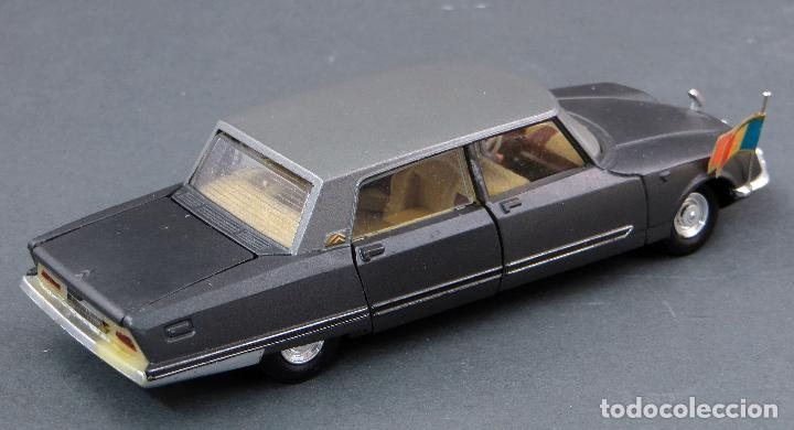 Coches a escala: Citroen Presidentielle Dinky Toys Made in France con caja 1435 1/43 años 70 - Foto 7 - 120545959