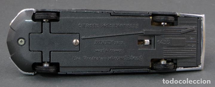 Coches a escala: Citroen Presidentielle Dinky Toys Made in France con caja 1435 1/43 años 70 - Foto 8 - 120545959