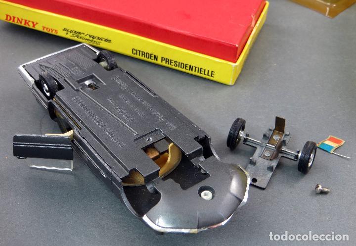 Coches a escala: Citroen Presidentielle Dinky Toys Made in France con caja 1435 1/43 años 70 - Foto 9 - 120545959