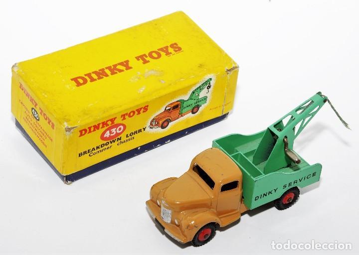 DINKY TOYS 430 - GRUA DINKY SERVICE - BREAKDOWN LORRY - CAJA ORIGINAL - AÑOS 60 (Juguetes - Coches a Escala 1:43 Dinky Toys)