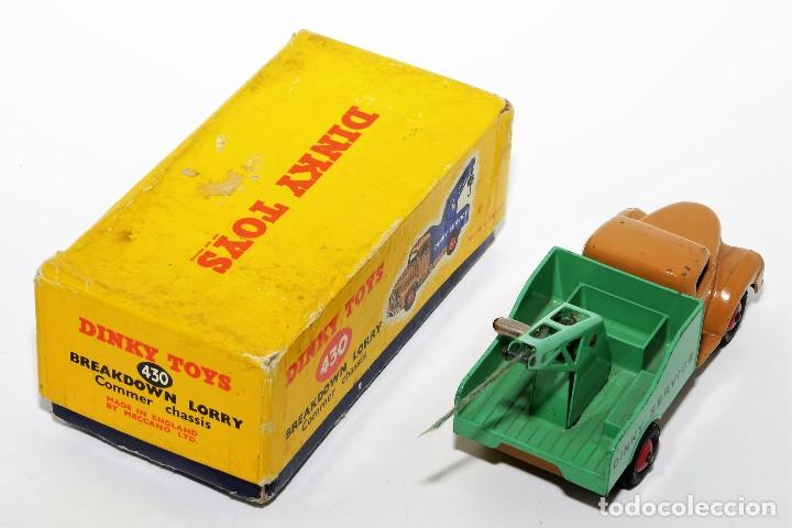 Coches a escala: DINKY TOYS 430 - GRUA DINKY SERVICE - BREAKDOWN LORRY - CAJA ORIGINAL - AÑOS 60 - Foto 2 - 121110023