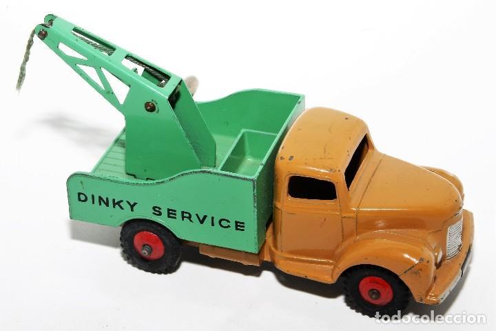 Coches a escala: DINKY TOYS 430 - GRUA DINKY SERVICE - BREAKDOWN LORRY - CAJA ORIGINAL - AÑOS 60 - Foto 3 - 121110023