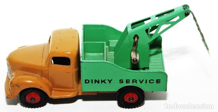 Coches a escala: DINKY TOYS 430 - GRUA DINKY SERVICE - BREAKDOWN LORRY - CAJA ORIGINAL - AÑOS 60 - Foto 5 - 121110023