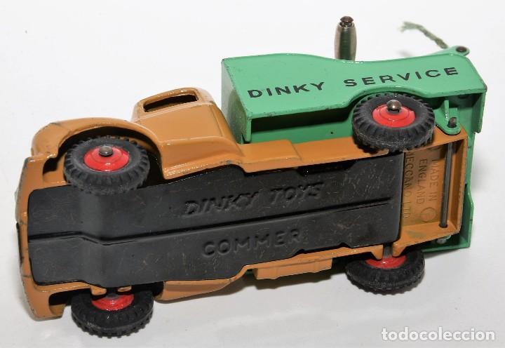 Coches a escala: DINKY TOYS 430 - GRUA DINKY SERVICE - BREAKDOWN LORRY - CAJA ORIGINAL - AÑOS 60 - Foto 7 - 121110023