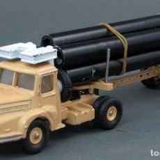 Coches a escala - Camión transporte Tracteur Unic Saharien Dinky SuperToys Made in France con caja 893 1/43 años 60 - 122000187