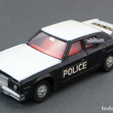 Coches a escala: PLYMOUTH POLICE DINKY TOYS MADE IN ENGLAND 244 1/43 AÑOS 70. Lote 122380307