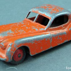 Coches a escala: JAGUAR DINKY TOYS MADE IN ENGLAND 157 1/43 AÑOS 50. Lote 122438463