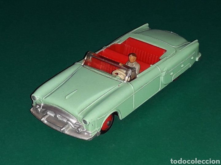 PACKARD CONVERTIBLE REF 132, METAL ESC. APROX. 1/43, DINKY TOYS MADE IN ENGLAND, ORIGINAL AÑO 1955. (Juguetes - Coches a Escala 1:43 Dinky Toys)