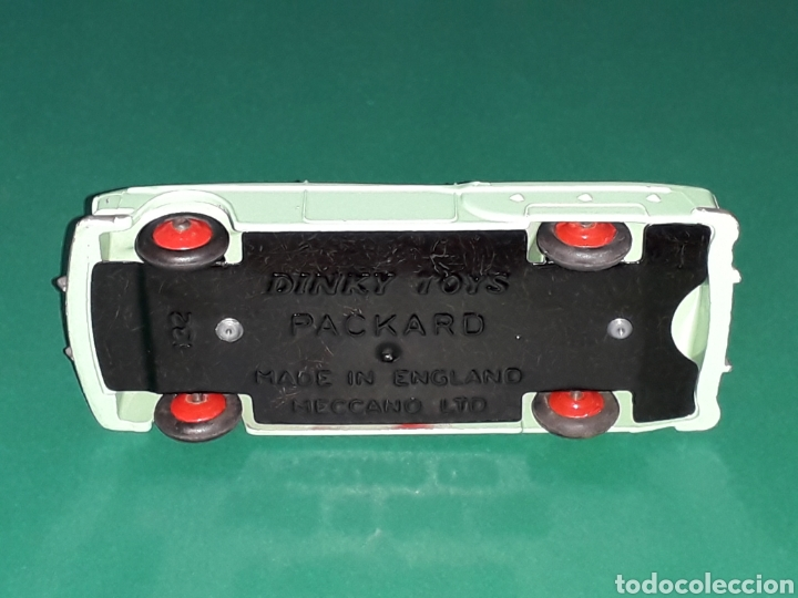 Coches a escala: Packard Convertible ref 132, metal esc. aprox. 1/43, Dinky Toys made in England, original año 1955. - Foto 7 - 126878858