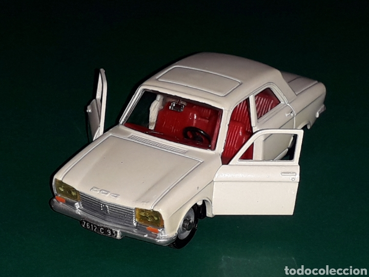 PEUGEOT 304 REF. 1428, METAL ESC. 1/43, DINKY TOYS MADE IN FRANCE, ORIGINAL AÑO 1970. (Juguetes - Coches a Escala 1:43 Dinky Toys)