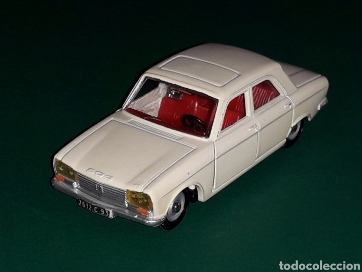 Coches a escala: Peugeot 304 ref. 1428, metal esc. 1/43, Dinky Toys made in France, original año 1970. - Foto 2 - 126882311
