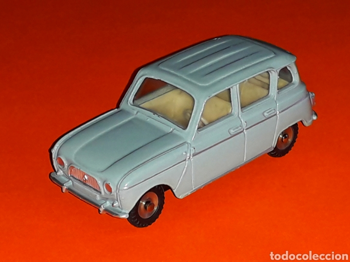 RENAULT 4 4L REF. 518, METAL ESC. 1/43, DINKY TOYS MADE IN FRANCE, ORIGINAL AÑO 1960. (Juguetes - Coches a Escala 1:43 Dinky Toys)