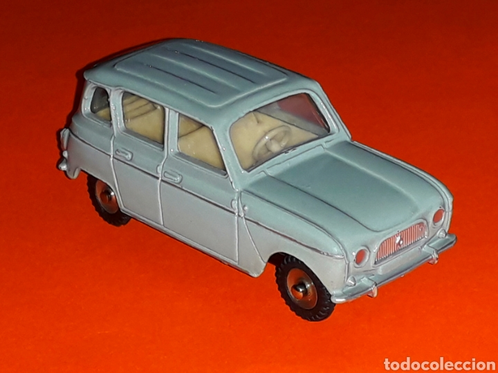 Coches a escala: Renault 4 4L ref. 518, metal esc. 1/43, Dinky Toys made in France, original año 1960. - Foto 4 - 126918567