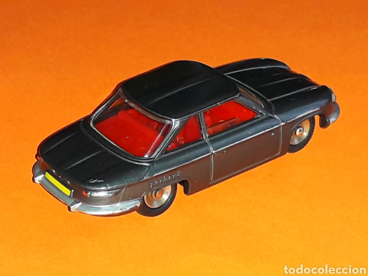 Coches a escala: Panhard 24 CT ref. 524, metal esc. 1/43, Dinky Toys made in France, original año 1964. - Foto 6 - 126919231