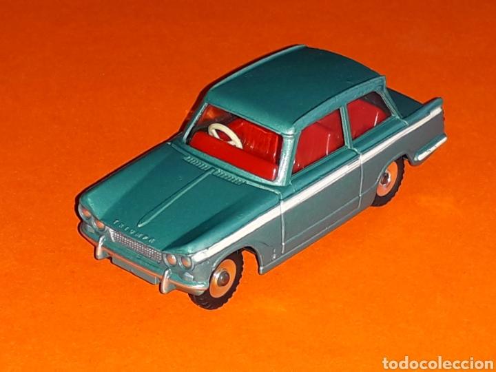 TRIUMPH VITESSE REF. 134, METAL ESC. 1/43, DINKY TOYS MADE IN ENGLAND, ORIGINAL AÑO 1964. (Juguetes - Coches a Escala 1:43 Dinky Toys)