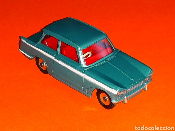 Coches a escala: Triumph Vitesse ref. 134, metal esc. 1/43, Dinky Toys made in England, original año 1964. - Foto 4 - 126919547