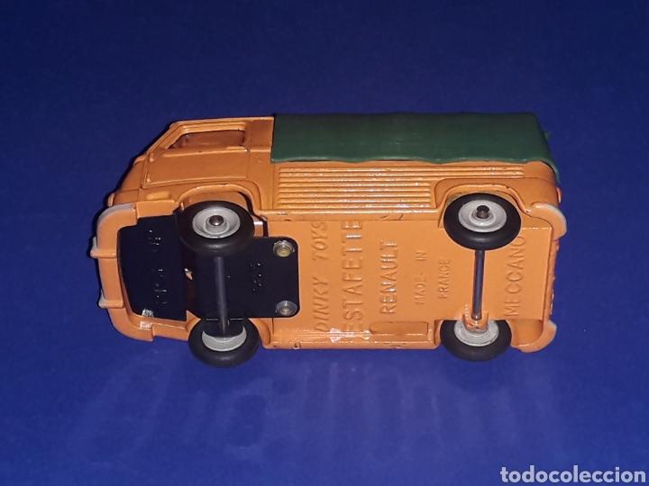 Coches a escala: Renault Estafette Pick-Up ref. 563, metal esc. 1/43, Dinky Toys made in France, original año 1960. - Foto 9 - 133294038