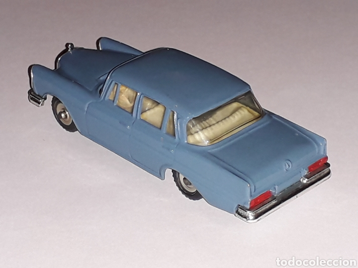 Coches a escala: Mercedes Benz 220 SE ref. 186, metal esc. 1/43, Dinky Toys made in England, original año 1961. - Foto 2 - 133500634
