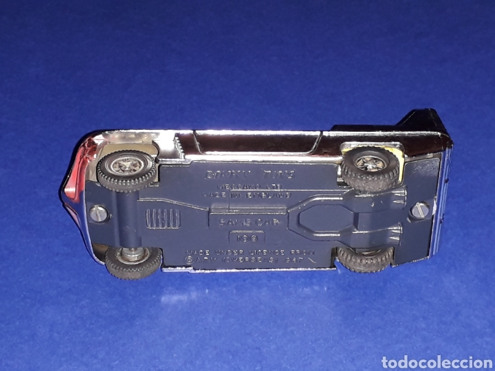 Coches a escala: Sam´s Car from Joe 90, ref. 108, metal, motor interior, Dinky Toys made in England, original 1969. - Foto 7 - 134870446