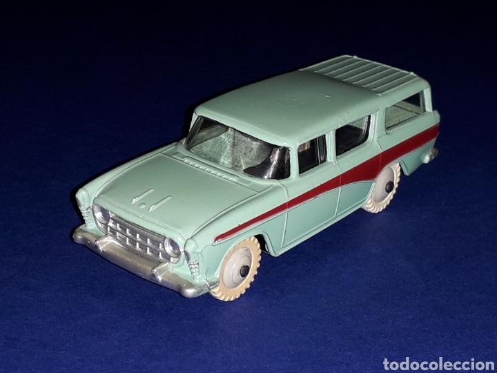 NASH RAMBLER *TURQUESA* REF. 173, METAL ESC. 1/43, DINKY TOYS MADE IN ENGLAND, ORIGINAL 1957. (Juguetes - Coches a Escala 1:43 Dinky Toys)