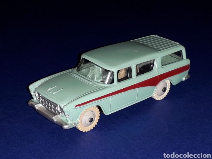 Coches a escala: Nash Rambler *turquesa* ref. 173, metal esc. 1/43, Dinky Toys made in England, original 1957. - Foto 2 - 135624762