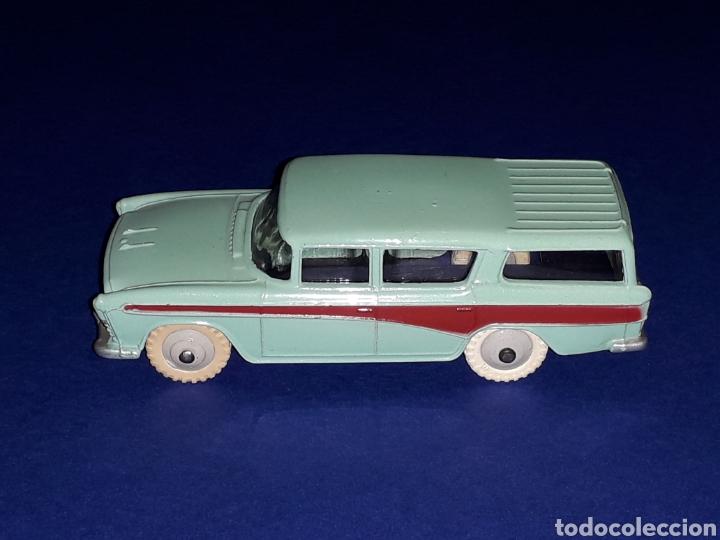 Coches a escala: Nash Rambler *turquesa* ref. 173, metal esc. 1/43, Dinky Toys made in England, original 1957. - Foto 3 - 135624762
