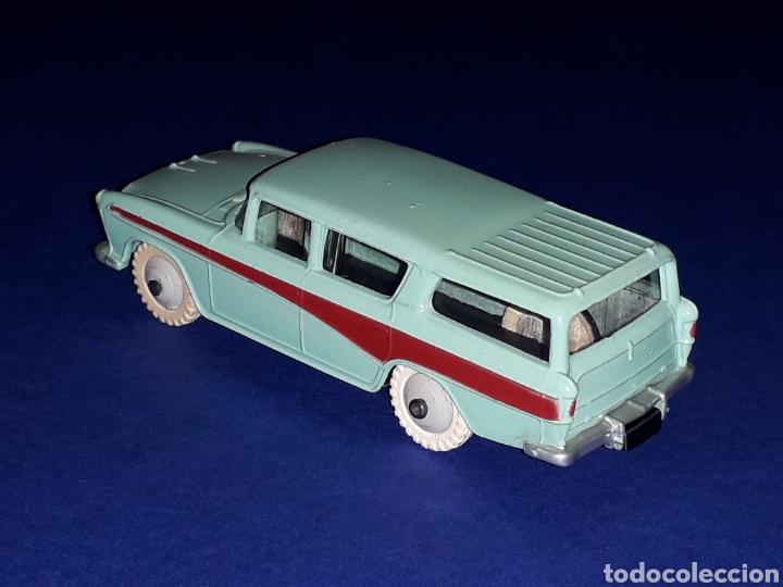 Coches a escala: Nash Rambler *turquesa* ref. 173, metal esc. 1/43, Dinky Toys made in England, original 1957. - Foto 4 - 135624762