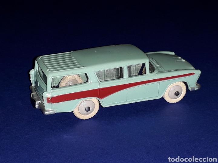 Coches a escala: Nash Rambler *turquesa* ref. 173, metal esc. 1/43, Dinky Toys made in England, original 1957. - Foto 7 - 135624762