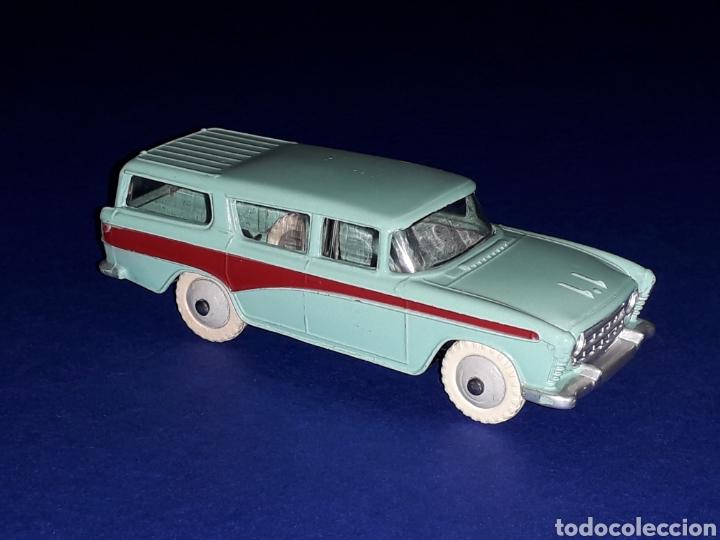 Coches a escala: Nash Rambler *turquesa* ref. 173, metal esc. 1/43, Dinky Toys made in England, original 1957. - Foto 8 - 135624762