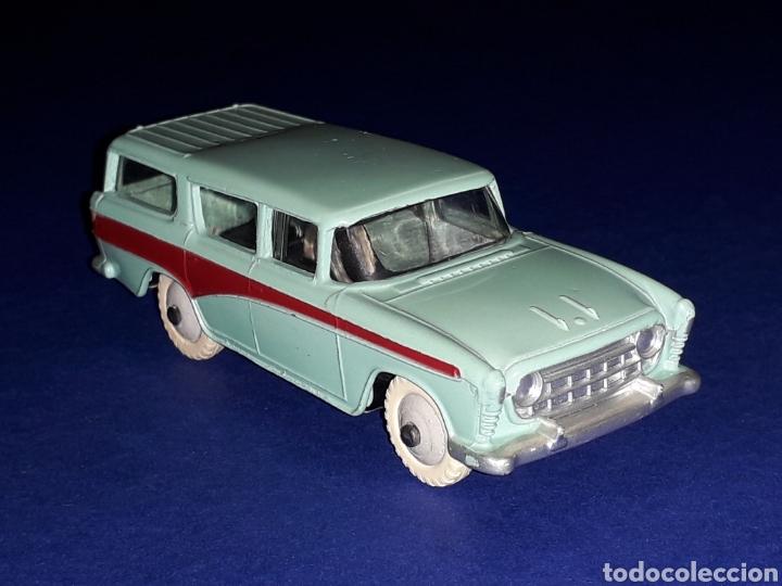 Coches a escala: Nash Rambler *turquesa* ref. 173, metal esc. 1/43, Dinky Toys made in England, original 1957. - Foto 9 - 135624762