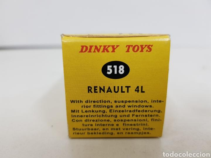 Coches a escala: Caja réplica Dinky Toys referencia 518 renault 4l - Foto 5 - 139066940