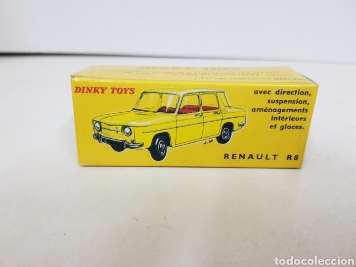 Coches a escala: Caja réplica Dinky Toys Renault R8 referencia 517 - Foto 3 - 139067070
