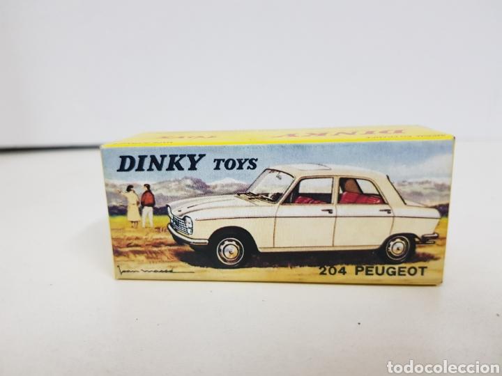 Coches a escala: Caja réplica Dinky Toys referencia 510 Peugeot 204 - Foto 3 - 139068226