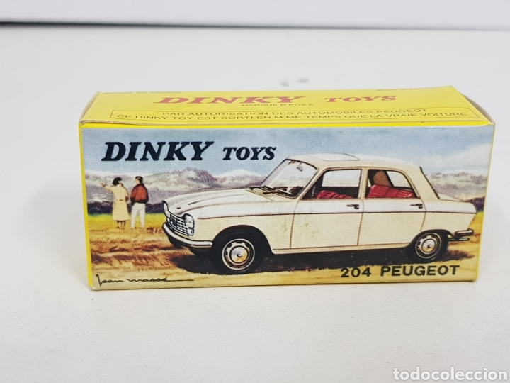 Coches a escala: Caja réplica Dinky Toys referencia 510 Peugeot 204 - Foto 5 - 139068226