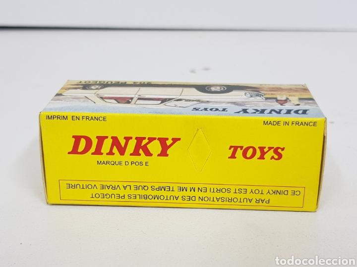 Coches a escala: Caja réplica Dinky Toys referencia 510 Peugeot 204 - Foto 6 - 139068226
