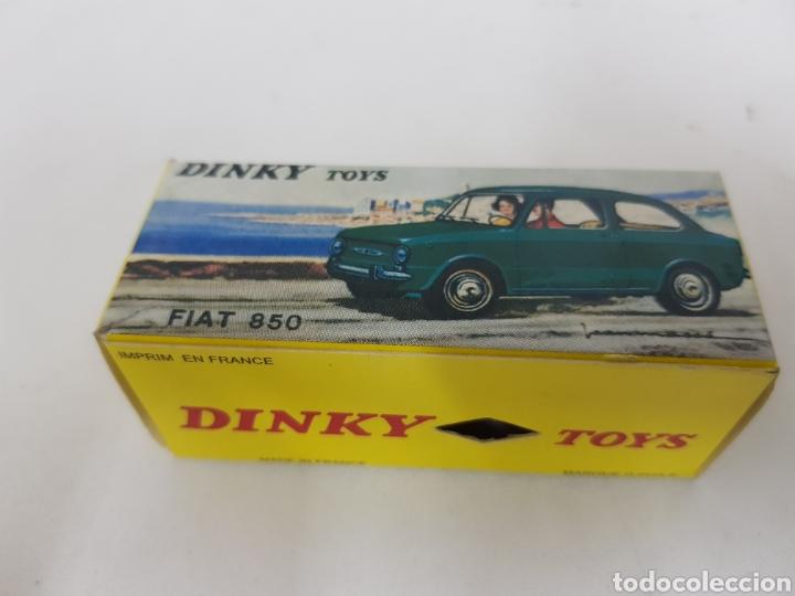 Coches a escala: Caja réplica Dinky Toys referencia 509 Fiat 850 - Foto 2 - 139068505