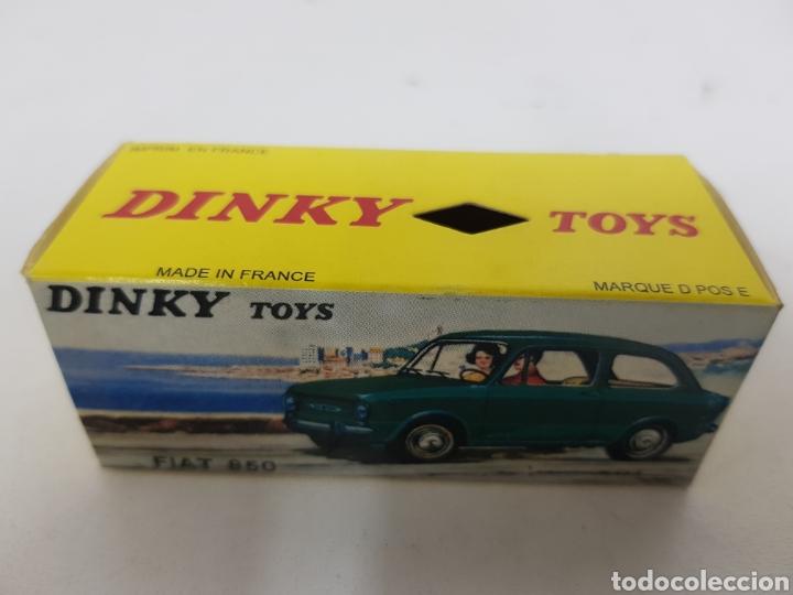 Coches a escala: Caja réplica Dinky Toys referencia 509 Fiat 850 - Foto 3 - 139068505