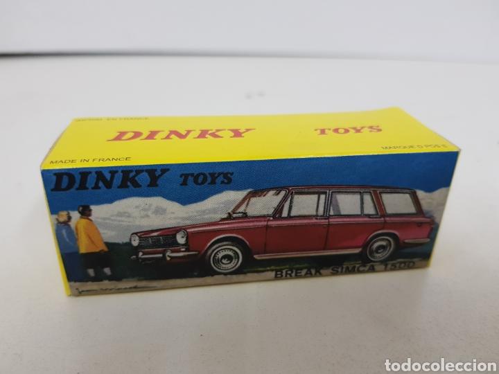 Coches a escala: Caja réplica Dinky Toys referencia 507 Simca 1500 - Foto 5 - 139068793
