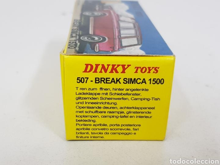 Coches a escala: Caja réplica Dinky Toys referencia 507 Simca 1500 - Foto 7 - 139068793