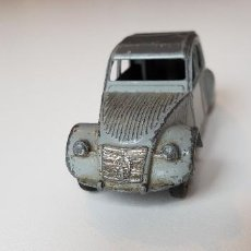 Coches a escala: DINKY TOYS CITROEN 2CV MECCANO 1:43 MADE IN FRANCE. Lote 141132250